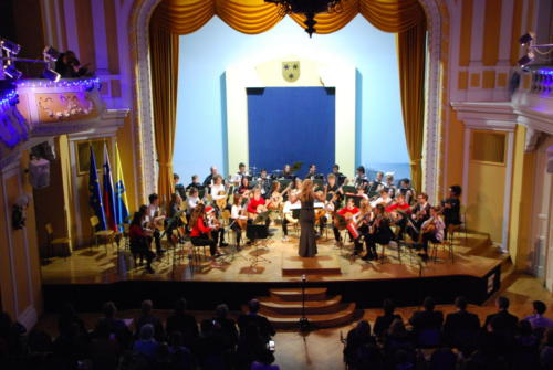 Novoletni koncert Kitarskega orkestra in Harmonikarskega orkestra
