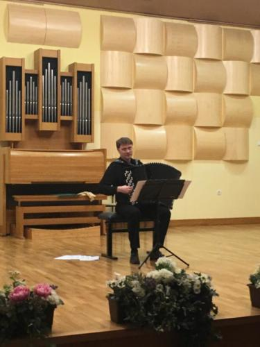 Koncert Klemen Leben in mojstrski tečaj harmonike