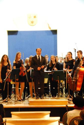 Mladinski godalni - simfonični orkester 10. in 11. 12. 2017