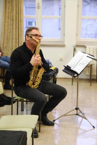 Mojstrski tečaj za saksofon