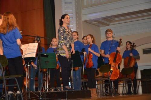 Nastop Malega godalnega orkestra za IV. OŠ in OŠ Frana Kranjca 19. 12. 2017