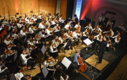 Novoletni koncert Malega pihalnega orkestra, Malega godalnega orkestra in Otroškega pevskega zbora