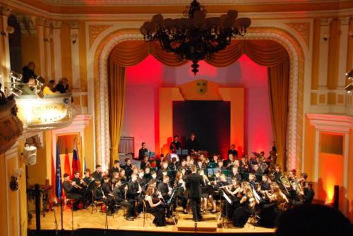 Novoletni koncert Mladinskega pihalnega orkestra