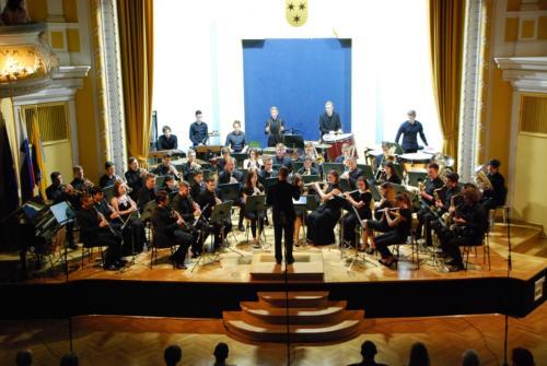 Pomladni koncert Mladinskega pihalnega orkestra 22. 4. 2018