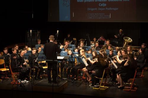 Revija pihalnih orkestrov, Šentjur - Mali pihalni orkester, 13. 4. 2018