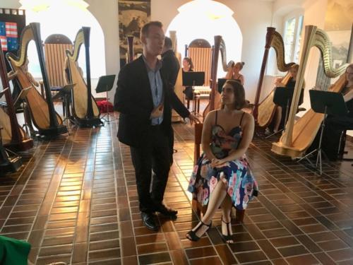 Orkester harf na Starem gradu