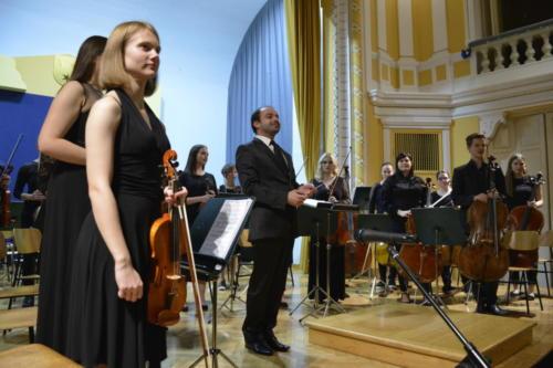 20-letnica Mladinskega simfoničnega orkestra, Novoletni koncert