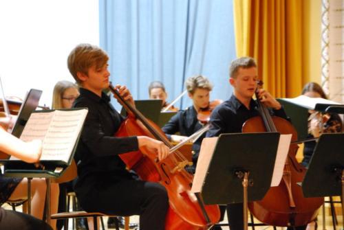 Mladinski godalni - simfonični orkester 21. 5. 2018