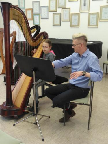 Mojstrski tečaj za harfo