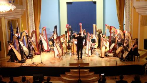 Koncert orkestra harf 4. 12. 2019